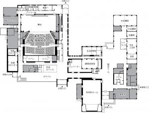 ホール図面1階(パンフレット用)