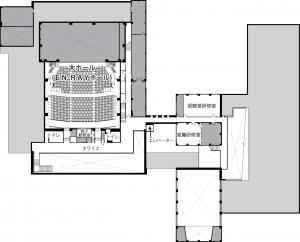ホール図面2階 (パンフレット用)